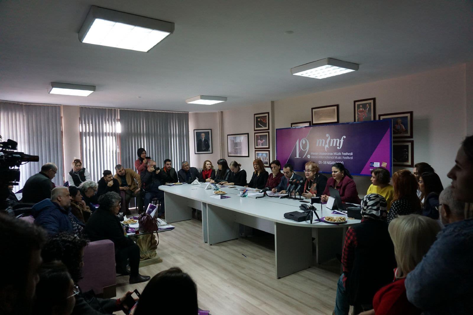 19. Mersin Uluslararası Müzik Festivali Programı Açıklandı