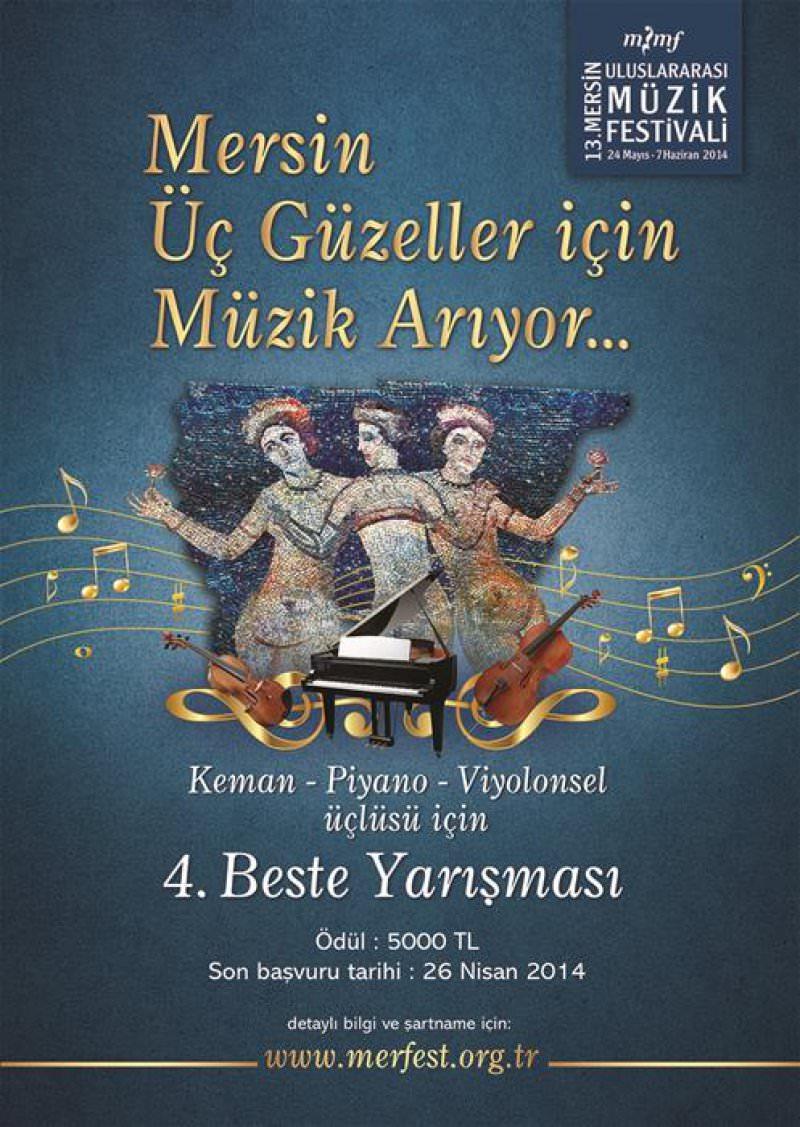 4. Beste Yarışması (13. Mersin Uluslararası Müzik Festivali)