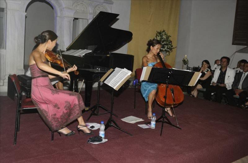 9. Mersin Uluslararası Müzik Festivali, 03 Haziran 2010 Perşembe Günü Saat 20.00'de Ahn Trio Konseriyle Sona Erdi