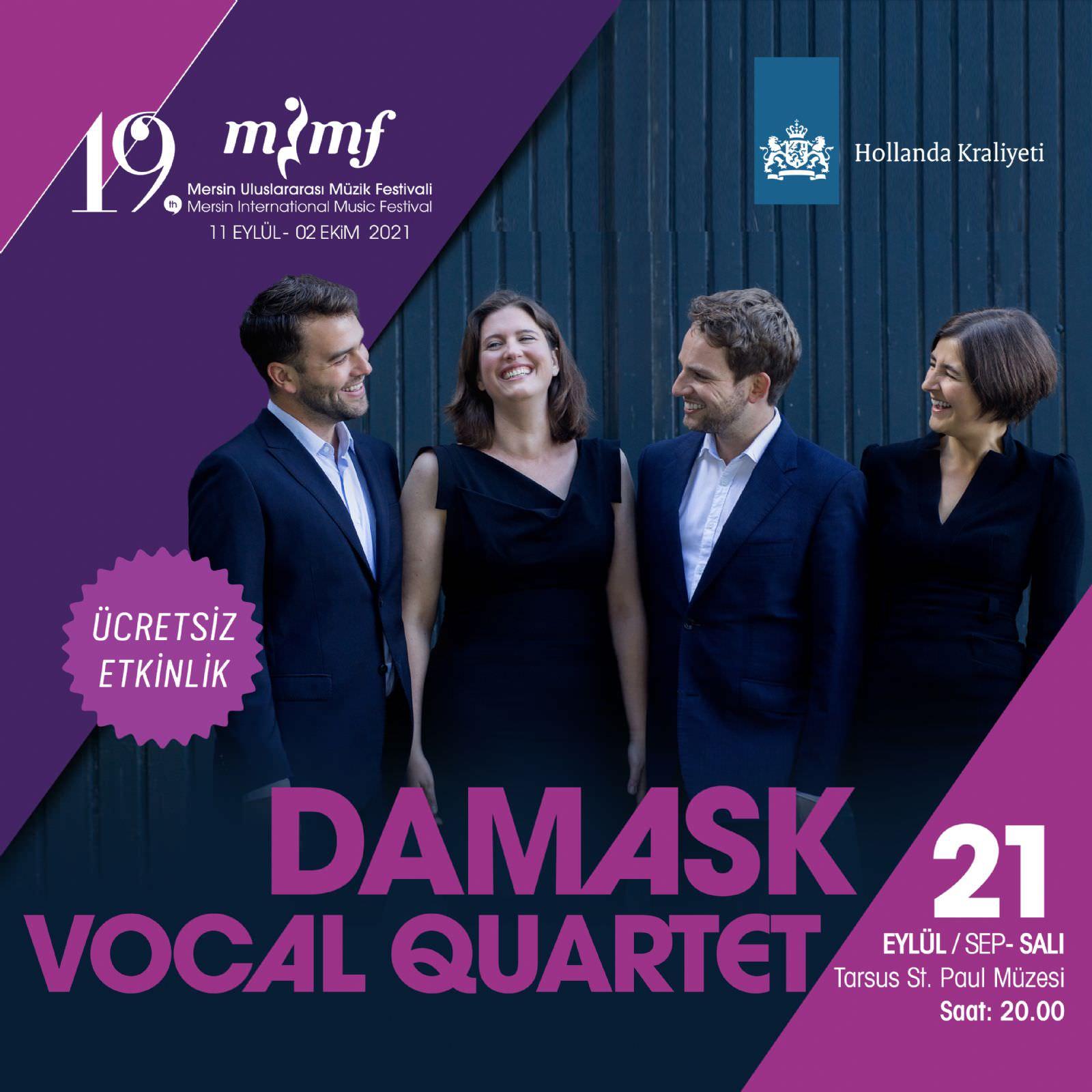 DAMASK Vocal Quartet, Hollanda