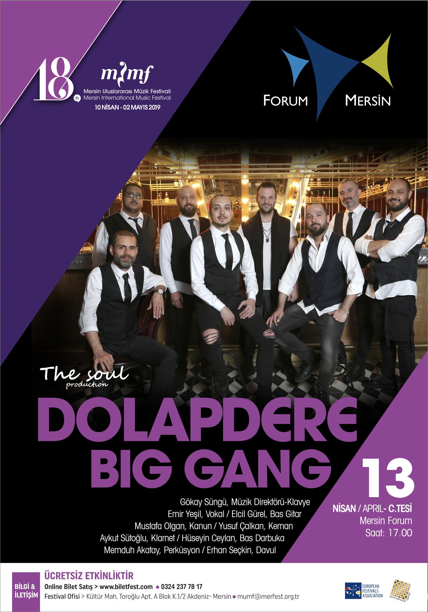"""""""Dolapdere Big Gang"""" Fırtınası Mersin'de."""