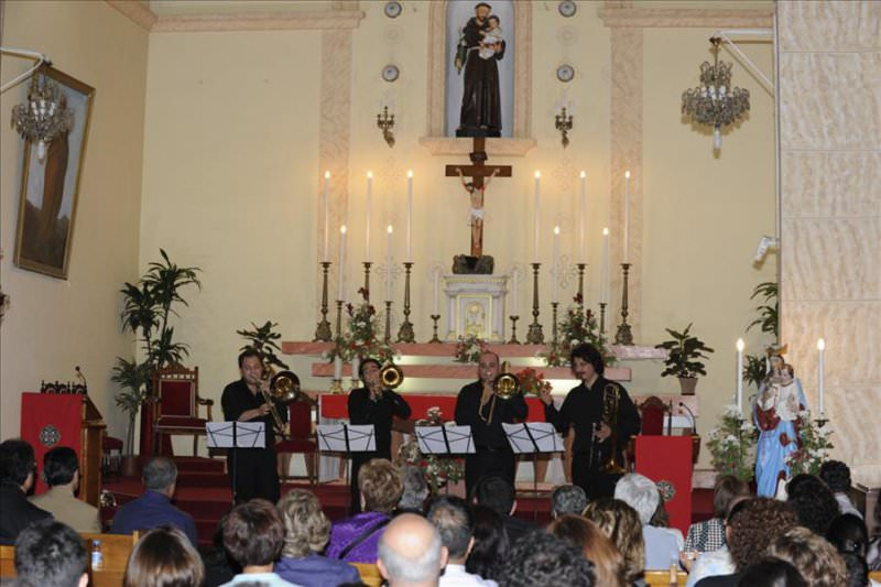 Genç Tromboncuların Caz Yorumu İtalyan Katolik Kilisesi'ndeydi