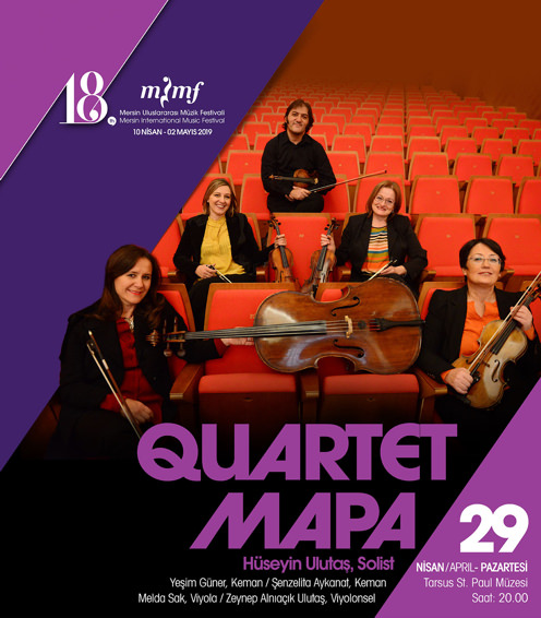 Quartet Mapa