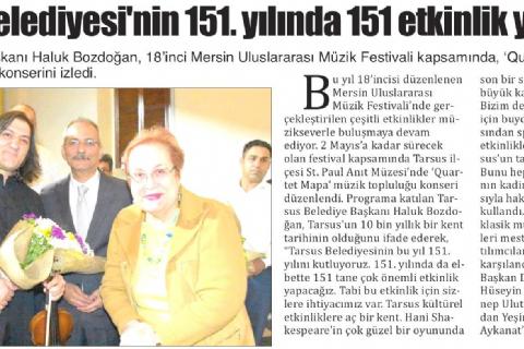 18. Mersin Uluslararası Müzik Festivali