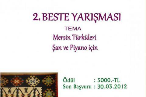 2. Beste Yarışması (11. Mersin Uluslararası Müzik Festivali)