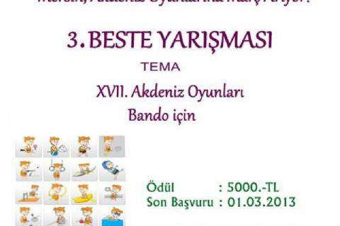 3. Beste Yarışması (12. Mersin Uluslararası Müzik Festivali)