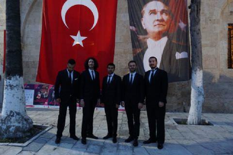 Anadolu Nefesli Beşlisi Tarsus'ta