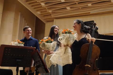 Avusturya kültür elçilerinden Mersin'de Konser
