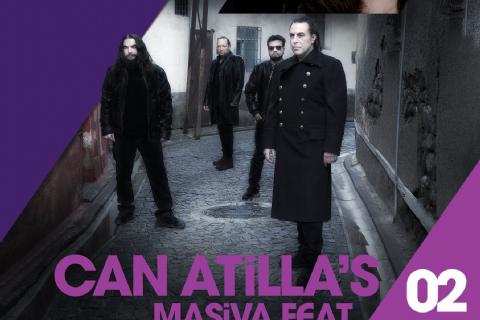 Can Atilla ve Elif Gökalp, festival kapanış konseri için Mersin'de