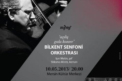 Klasik Müziğin Dünya Starı Sholomo Mintz Mersin'de