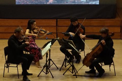Klasik müziğin Holandalı ustaları Mersinli sanatseverlerin kalbini çaldı