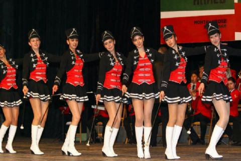 Majorettes Group and Band