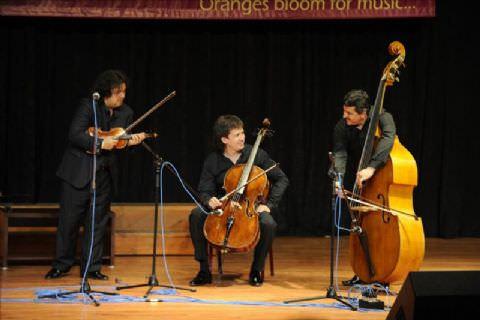 Mersin'e Çigan Ritmini, Efsane Keman Stradivarius Taşıdı