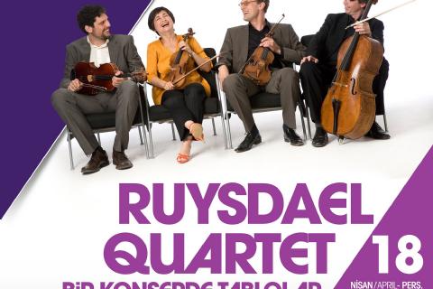 Ruysdael Quartet/Bir Konserde Tablolar