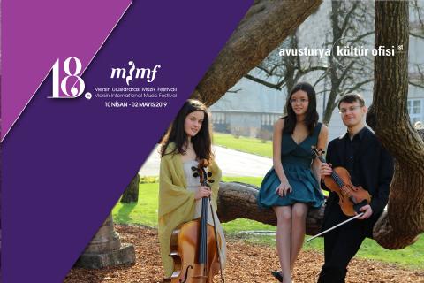 Salzburg'tan Mersin'e Klasik Müzik Rüzgarı: Accio Piyano Trio