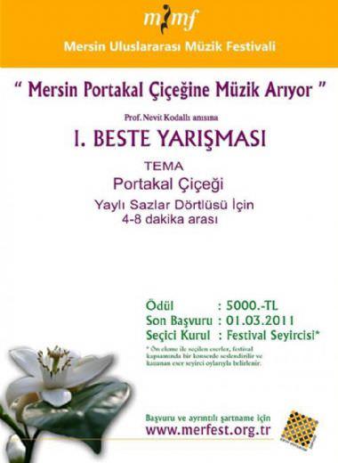 1. Beste Yarışması - Prof. Nevit Kodallı Anısına (10. MUMF)